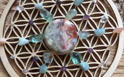 Edelsteen healing grid #1