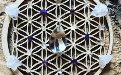 Edelsteen healing grid #2